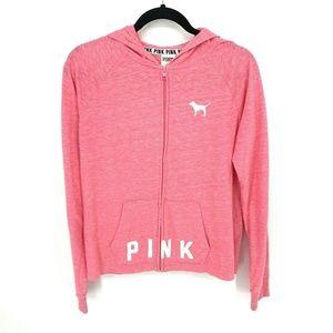 PINK Victorias Secret Dog Logo Hoodie Jacket